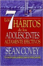 Portada del libro Los 7 hábitos de los adolescentes