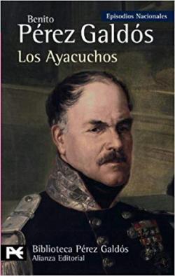 Portada del libro Los Ayacuchos: Episodios nacionales