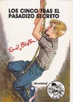 Portada del libro Los cinco tras el pasadizo secreto