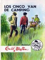 Portada del libro Los cinco van de camping