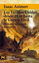 Portada del libro Los Estados Unidos desde 1816 hasta la Guerra Civil