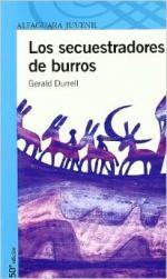 Portada del libro Los secuestradores de burros