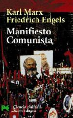 Portada del libro Manifiesto comunista