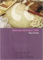 Portada del libro Memorias de Leticia Valle