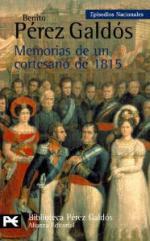 Portada del libro Memorias de un cortesano de 1815