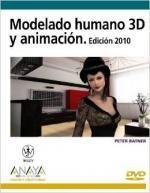 Portada del libro Modelado humano 3D y animación