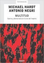 Portada del libro Multitud: Guerra y democracia en la era del imperio