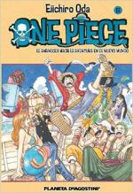 Portada del libro One Piece nº 61: El amanecer hacia la aventura en el nuevo mundo