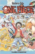 Portada del libro One Piece nº 62: La aventura en la isla de los hombres pez