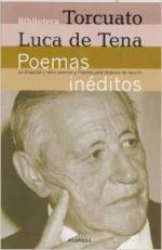 Portada del libro Poemas inéditos