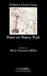 Portada del libro Poeta en Nueva York