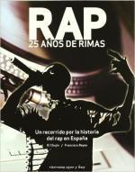 Portada del libro RAP. 25 años de rimas