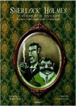 Portada del libro Sherlock Holmes y el caso de la joya azul