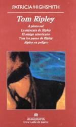 Portada del libro Tom Ripley