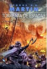 Portada del libro Tormenta de espadas (Canción de hielo y fuego 3)