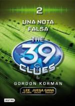 Portada del libro Una nota falsa (The 39 Clues 2)