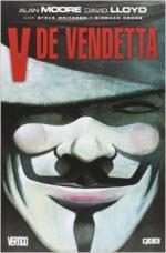 Portada del libro V de Vendetta