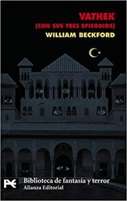 Portada del libro Vathek, cuento árabe