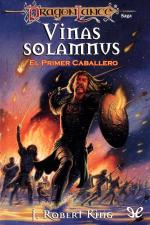 Portada del libro Vinas Solamnus. El primer caballero