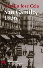 Portada del libro Vísperas, festividad y octava de San Camilo del año 1936 en Madrid