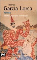 Portada del libro Yerma