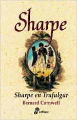 Portada del libro Sharpe en Trafalgar