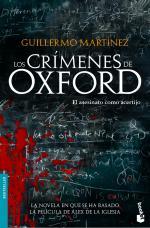 Portada del libro Los crímenes de Oxford