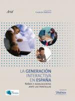 Portada del libro La generación interactiva en España