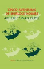 Portada del libro Cinco aventuras de Sherlock Holmes