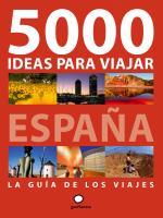 Portada del libro 5000 ideas para viajar por España