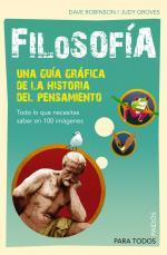 Portada del libro Filosofía. Una guía gráfica de la historia del pensamiento