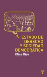Portada del libro Estado de Derecho y sociedad democrática