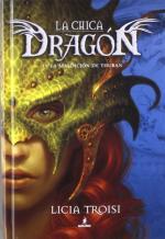 Portada del libro La maldición de Thuban. La chica dragón 1