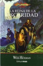 Portada del libro La reina de la oscuridad (Crónicas Dragonlance 3)
