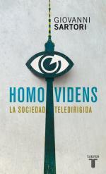 Portada del libro Homo videns