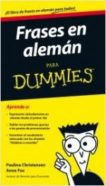 Portada del libro Frases en alemán para Dummies