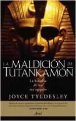 Portada del libro La maldición de Tutankamón