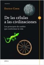 Portada del libro De las células a las civilizaciones