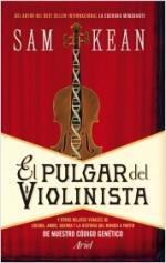 Portada del libro El pulgar del violinista