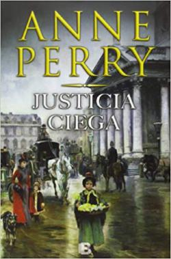 Portada del libro Justicia ciega. Detective William Monk 19