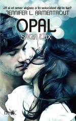 Portada del libro Opal. Saga Lux 3
