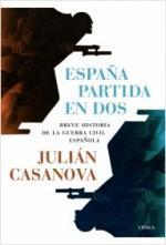 Portada del libro España partida en dos