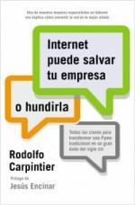 Portada del libro Internet puede salvar tu empresa... o hundirla