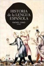 Portada del libro Historia de la lengua española
