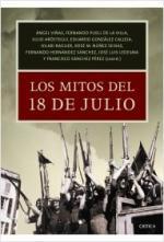 Portada del libro Los mitos del 18 de julio