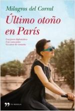 Portada del libro Último otoño en París