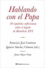 Portada del libro Hablando con el Papa