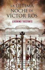 Portada del libro La última noche de Víctor Ros