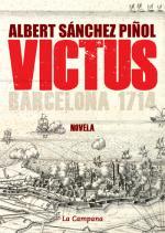Portada del libro VICTUS Barcelona 1714