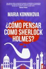 Portada del libro Cómo pensar como Sherlock Holmes